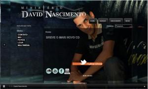 Site Ministério David Nascimento