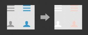 alterando a cor dos icones