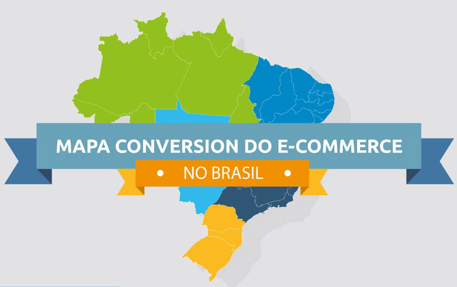 Infográfico Mapa do E-commerce no Brasil