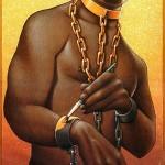 escravidão pintada de ouro