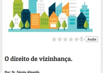 Revista Procura página de artigos no mobile