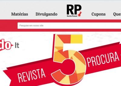 Novo site Revista Procura