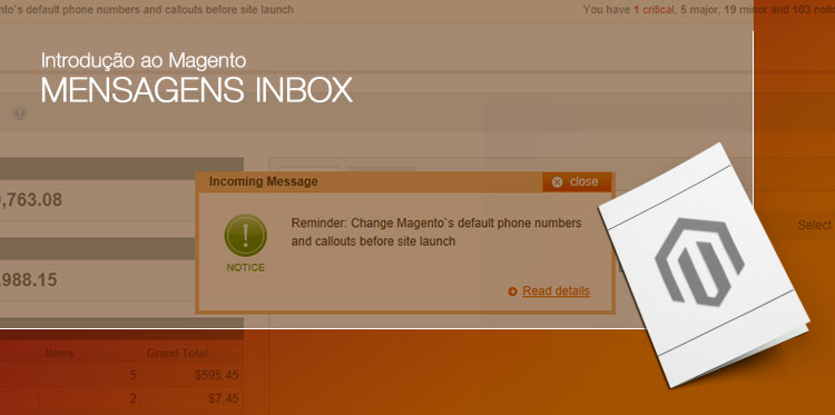 Introdução ao Magento – Mensagens InBox