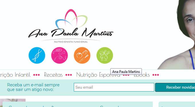 Ana Paula Martins – Nutricionista
